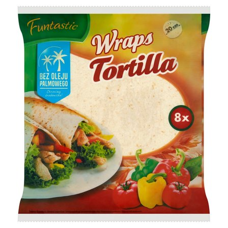 FUNTASTIC Wraps Tortilla 20cm 8szt. (1)