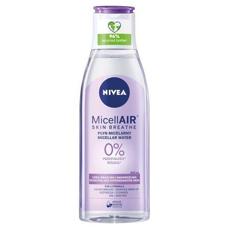 NIVEA MicellAir Skin Breathe Pielęgnujący płyn micelarny do cery wrażliwej i nadwrażliwej (1)