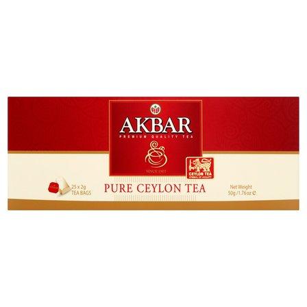 AKBAR Pure Ceylon Herbata czarna (25 tb.) (4)