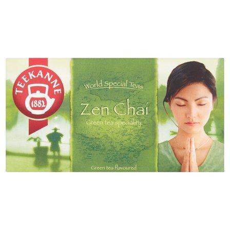 TEEKANNE World Special Teas Zen Chaí Herbata zielona o smaku cytryny i mango (20 tb.) (2)