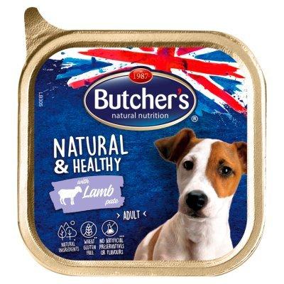 Butcher's Natural & Healthy Karma dla dorosłych psów pasztet z jagnięciną 150 g (1)