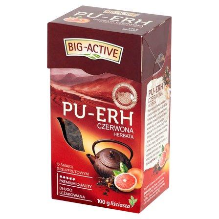 BIG-ACTIVE Pu-Erh Herbata czerwona o smaku grejpfrutowym liściasta (1)