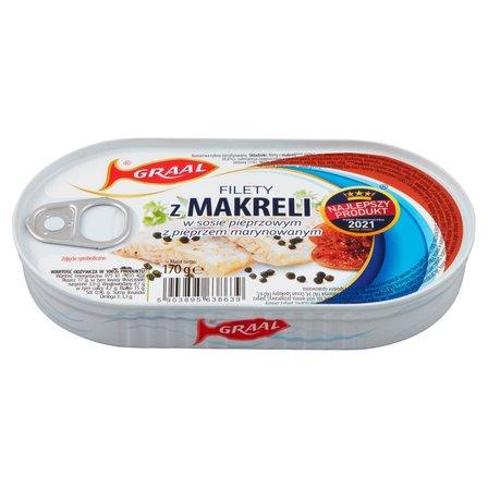 GRAAL Filety z makreli w sosie pieprzowym z pieprzem marynowanym (1)