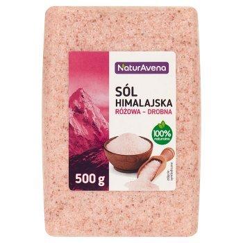 NaturAvena Sól himalajska różowa drobna 500 g (1)