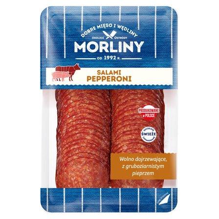 MORLINY Salami Pepperoni w plastrach (1)