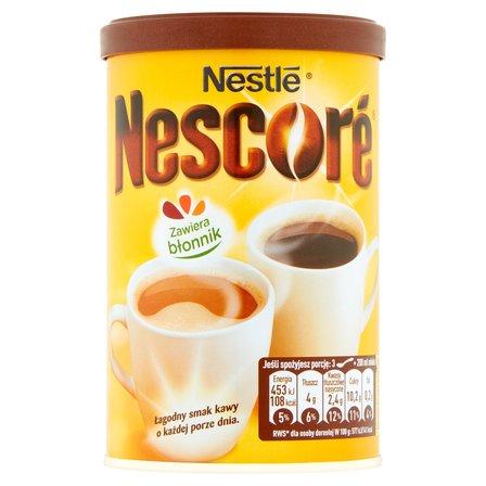 NESTLE Nescoré Kawa rozpuszczalna z oligofruktozą i cykorią (2)