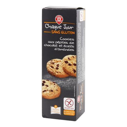 WIODĄCA MARKA Ciasteczka kruche z kawałkami czekolady bezglutenowe (1)