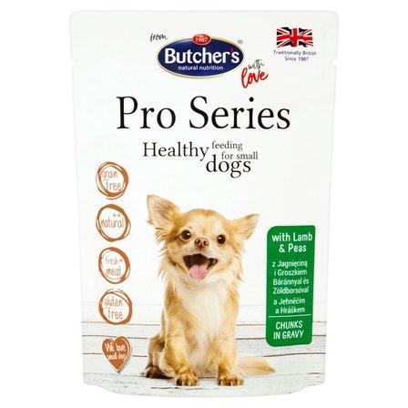 BUTCHER'S Pro Series Karma dla dorosłych psów kawałki w sosie z jagnięciną i groszkiem (1)