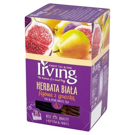 IRVING Herbata biała figowa z gruszką (20 tb.) (1)