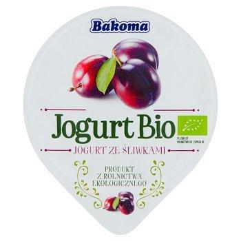 Bakoma Jogurt Bio ze śliwkami 140 g (1)
