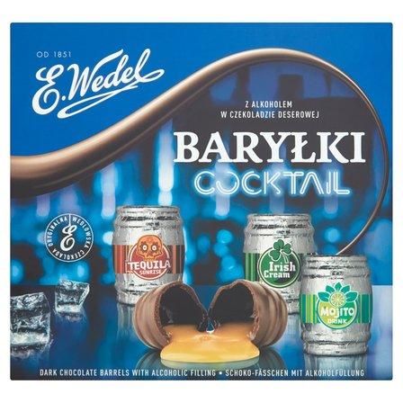 E. WEDEL Baryłki Cocktail z alkoholem w czekoladzie deserowej (2)