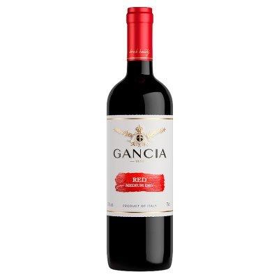 Gancia Red Medium Dry Wino czerwone włoskie 0,75 l (1)