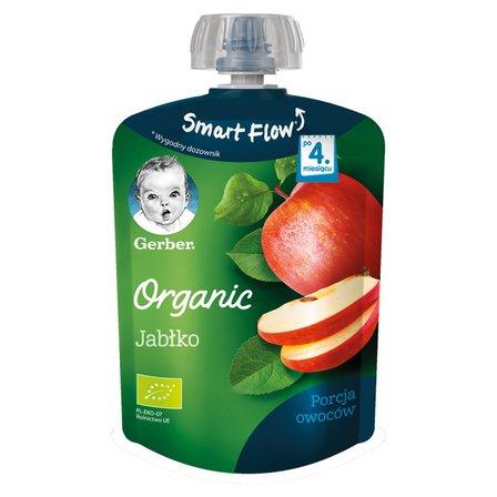 GERBER Organic Deserek Jabłko po 4. m-cu (1)
