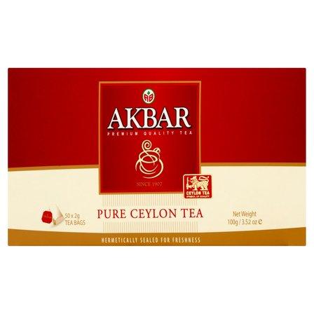 AKBAR Pure Ceylon Herbata czarna (50 tb.) (3)
