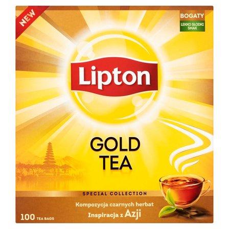 LIPTON Gold Herbata czarna (100 tb.) (2)