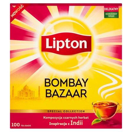 LIPTON Bombay Bazaar Herbata czarna z naturalnym aromatem (100 tb.) (2)