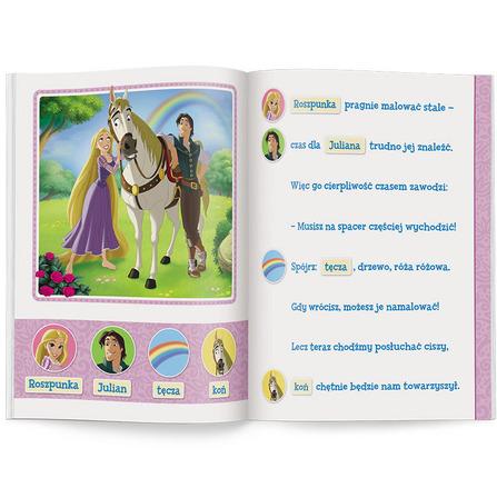 AMEET Disney uczy. Przygoda z czytaniem. Poziom 2. Czytam z mamą i tatą (okładka miękka) (3)
