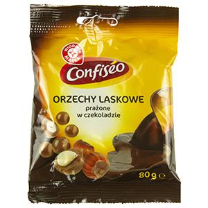 WIODĄCA MARKA Orzechy laskowe prażone w czekoladzie (1)
