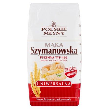 Polskie Młyny Mąka Szymanowska Uniwersalna pszenna typ 480 1 kg (2)