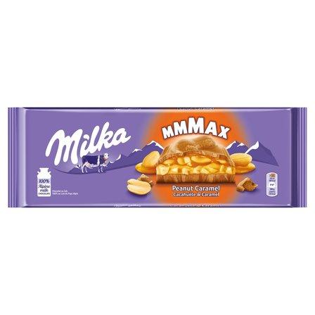 MILKA Czekolada mleczna Peanut Caramel (1)