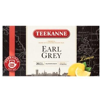 TEEKANNE EARL GREY LEMON MIESZANKA HERBAT CZARNYCH 33 G (20 TOREBEK) (1)