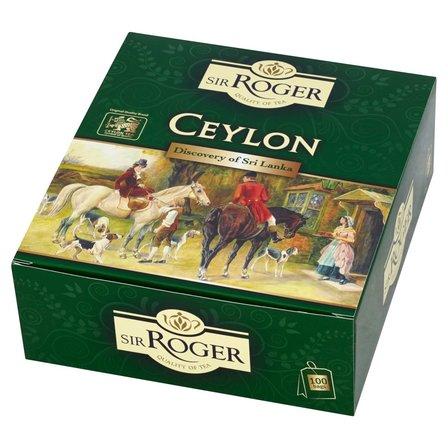 SIR ROGER Ceylon Herbata czarna (100 tb.) (1)