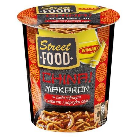 WINIARY Street Food China! Makaron z sosem sojowym z imbirem i papryką chili (1)