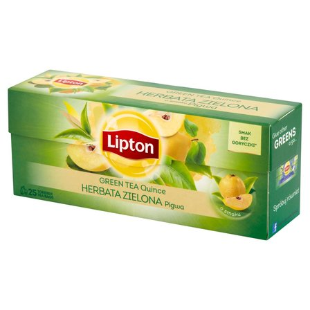 LIPTON Herbata zielona pigwa (25 tb.) (1)