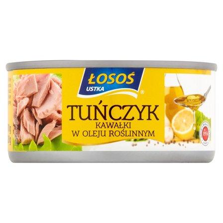 ŁOSOŚ Tuńczyk kawałki w oleju roślinnym (2)
