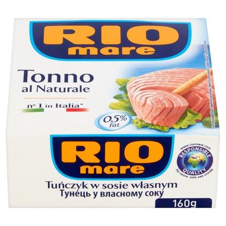 RIO MARE  Tuńczyk w sosie własnym (1)
