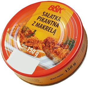 B&K Sałatka pikantna z makrelą (1)