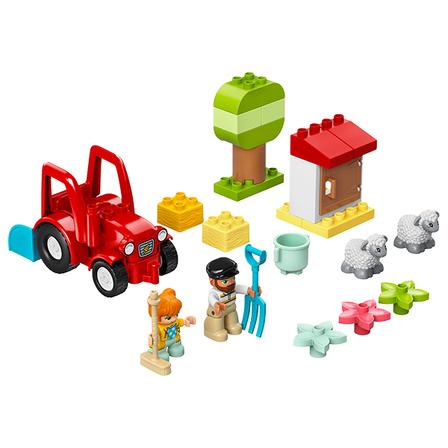 LEGO Duplo Traktor i zwierzęta gospodarskie 10950 (2+) (2)