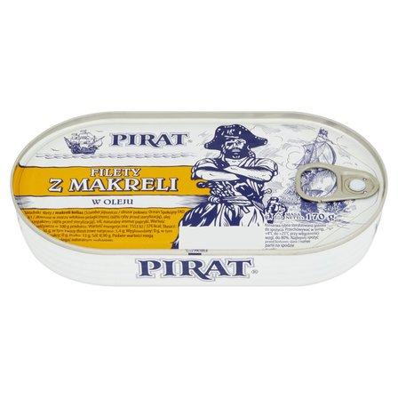 PIRAT Filety z makreli w oleju (1)