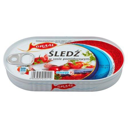 GRAAL Śledź w sosie pomidorowym (1)