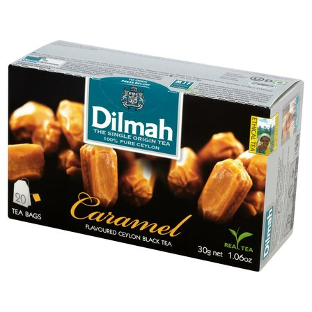 DILMAH Czarna herbata z aromatem karmelu (20 tb.) (1)