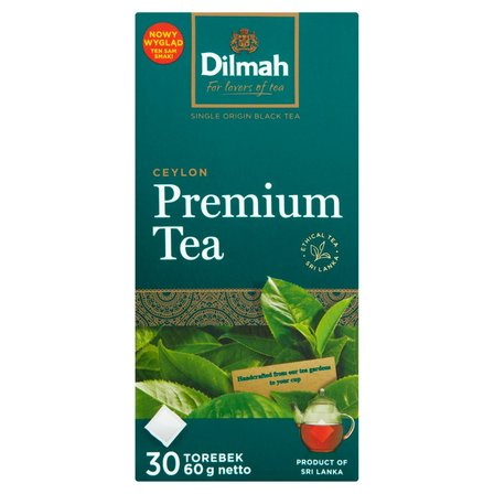DILMAH Premium Tea Herbata czarna klasyczna (30 tb.) (2)