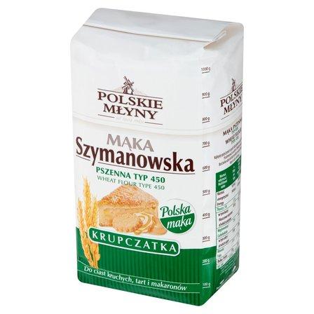 POLSKIE MŁYNY Mąka Szymanowska pszenna krupczatka typ 450 (1)