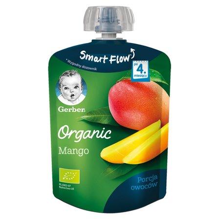GERBER Organic Deserek Mango po 4. m-cu (1)