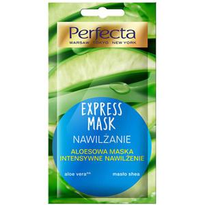 PERFECTA Express Mask Aloesowa maska Peel-Off intensywne nawilżenie (1)
