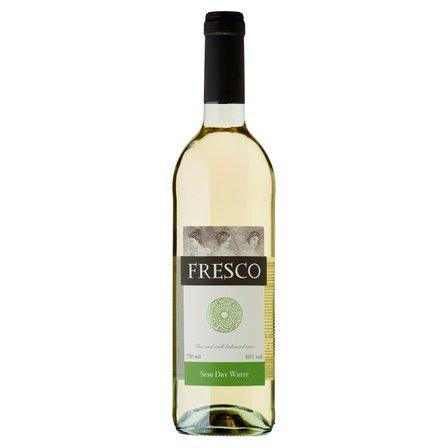 FRESCO Wino białe półwytrawne polskie (1)