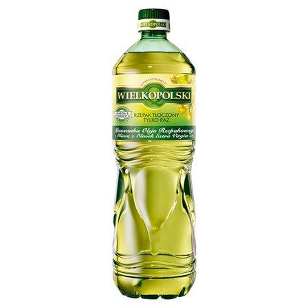 WIELKOPOLSKI Mieszanka oleju rzepakowego z oliwą z oliwek extra virgin 5% (1)