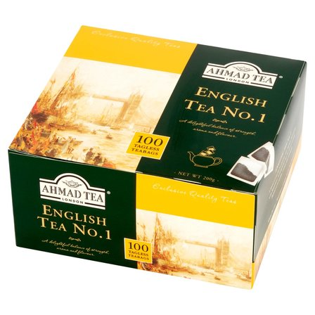 AHMAD TEA English Tea No. 1 Herbata czarna (100 tb.) (1)