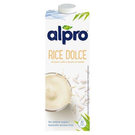 ALPRO Napój ryżowy dolce o smaku waniliowym (1)