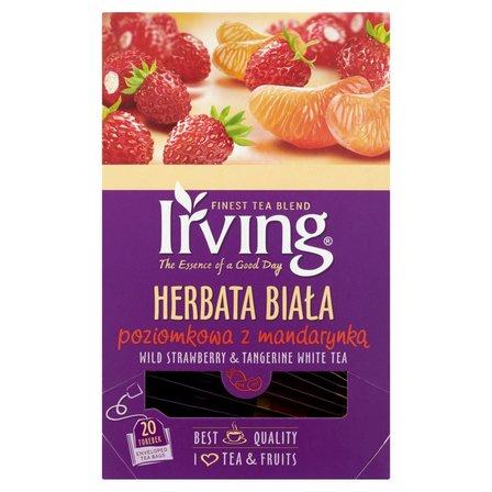 IRVING Herbata biała poziomkowa z mandarynką (20 tb.) (2)