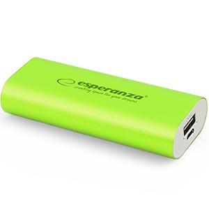ESPERANZA Powerbank 4400mAh EMP105G zielony (1)