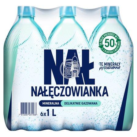 Nałęczowianka Naturalna woda mineralna delikatnie gazowana 6 x 1 l (1)