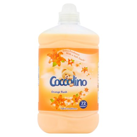 COCCOLINO Orange Rush Płyn do płukania tkanin koncentrat (72 prania) (1)