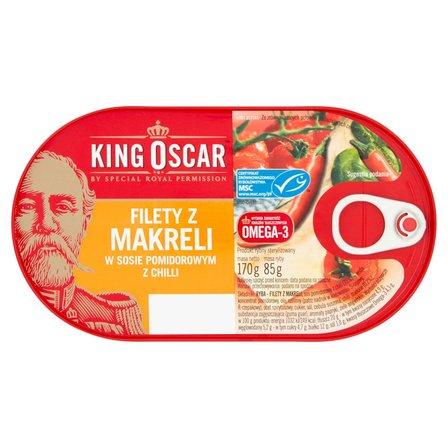 KING OSCAR Filety z makreli w sosie pomidorowym z chilli (2)