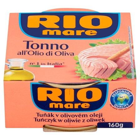 RIO MARE Tuńczyk w oliwie z oliwek (1)