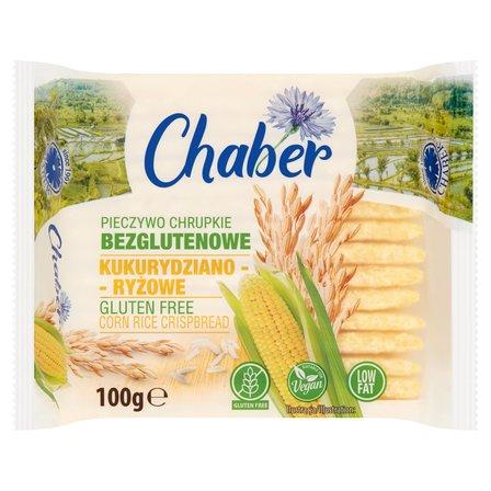 CHABER Pieczywo chrupkie bezglutenowe kukurydziano-ryżowe (1)